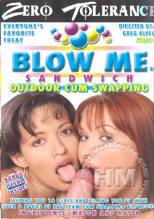 Blow Me Sandwich - Outdoor Cum Swapping